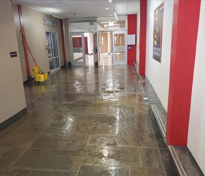 Water Damage in Local School